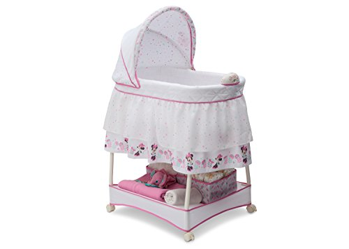 Delta Children Gliding Bassinet, Disney Minnie Mouse Boutique
