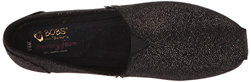 Skechers Luxe Women's Flat Dot Black BOBS Sparkle Ballet rxEqrw