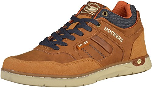 Dockers by Gerli Herren Sneaker Braun Braun (Cognac)