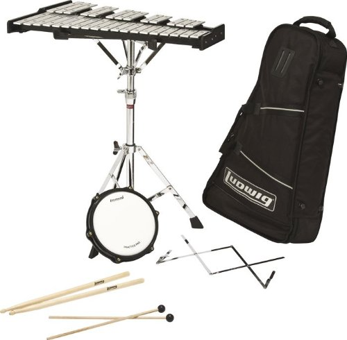 Ludwig Back-Pack Bell Kit Black
