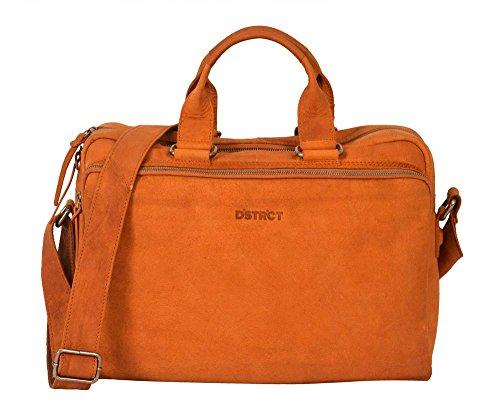 DSTRCT Wall Street Business Laptoptas 17 Cognac 76720 YJj72Ymg