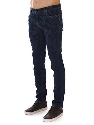 Etro Homme 1P4869135203 Bleu Coton Jeans