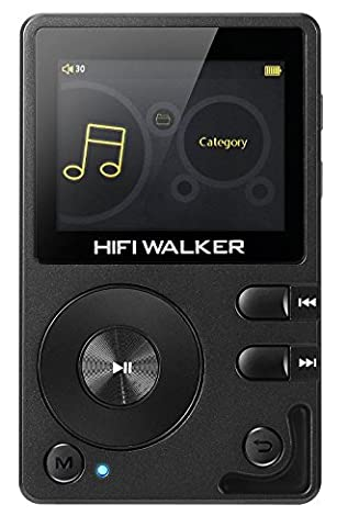 HIFI WALKER H2 High Resolution Bluetooth Digital Audio Player Portable (Mp3 Player Hi Fi)