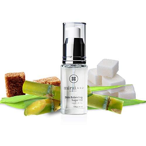 Skin Care Face Moisturizer Squalene   Skin Balancing Facial Sugar Oil   1oz