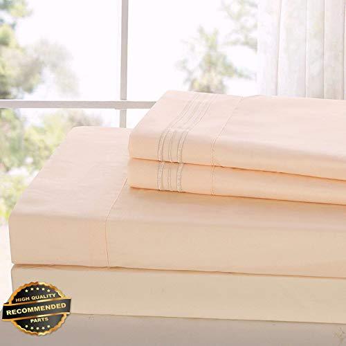 Florance Jones Egyptian Comfort Hotel Ultimate Luxury 4 Piece Deep Pocket Bed Sheet Set, Sheets   Collection Sheet Set SHSTHR-122020907   - Set Pocket Hanger Four