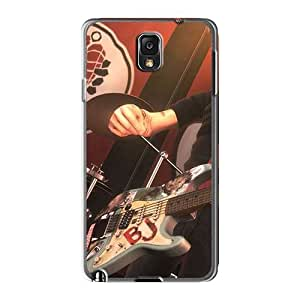 Anti-Scratch Cell-phone Hard Covers For Samsung Galaxy Note3 (sKe10555rUun) Support Personal Customs Attractive Green Day Band Pattern