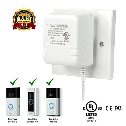 Power Adapter for Ring Video Doorbell, Ring Video Doorbell 2 & Ring Video Doorbell Pro