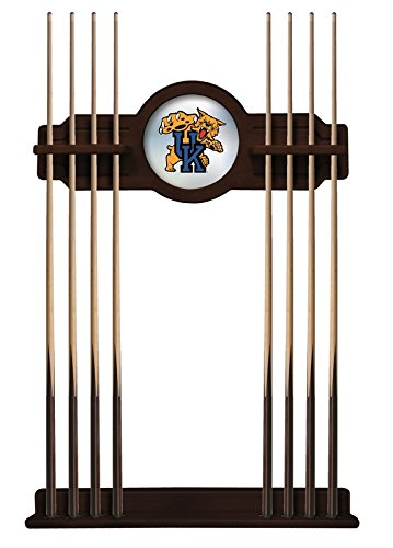 Kentucky ''Wildcat'' Cue Rack in English Tudor Finish by Holland Bar Stool Co.