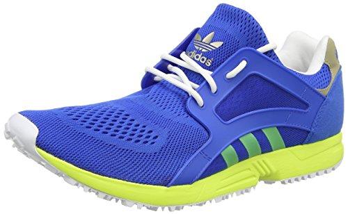 adidas Racer Lite, Men's Trainers Blue - Blau (Bluebird/Solar Yellow/Cyber Met.)