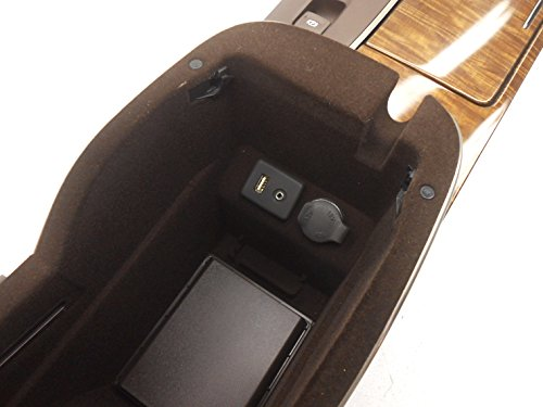 Buick OEM Lacrosse Center Console Non-Luxury Package Cocoa Small Mark by Buick (Image #5)