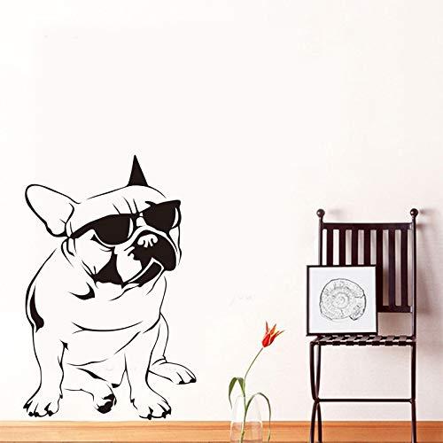 GUUTOP Perro Divertido Gafas de Sol Bulldog Francés Etiqueta de la ...