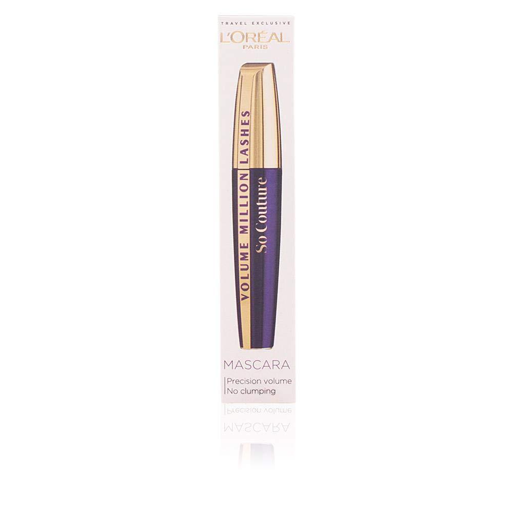 ecda9bb9472 L'Oréal Paris Volume Million Lashes So Couture Mascara, Black:  Amazon.co.uk: Beauty