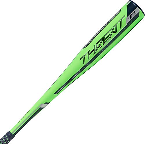 Rawlings 2019 Threat USA Youth Baseball Bat (-12), 27 inch / 15 oz (Easton Typhoon Baseball Bat)