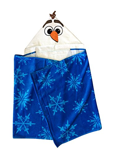 Jay Franco Disney Frozen Olaf Snowman Hooded Towel Wrap F...
