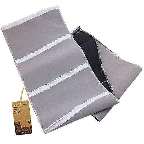 Noppor Adjustable Compression Zipper Slimming Belt Stretch Body Shaper Loss Weight Waistband