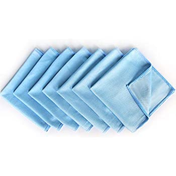Amazon.com: Microfiber Glass Cleaning Cloths - 8 Pack