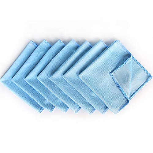 Auto Care Microfiber Glass Cleaning Cloths Towels