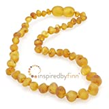 Unpolished Harvest Amber Necklace (11.5''-12.5'')