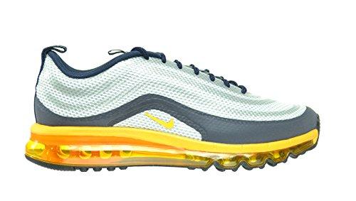Nike Air Max 97-2013 Hyp Men's Shoes Pure Platinum/University Gold-Obsidian 631753-003 (8.5 D(M) US)