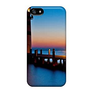 Case Cover Lightnouse In Blue/ Fashionable Case For Iphone 5/5s