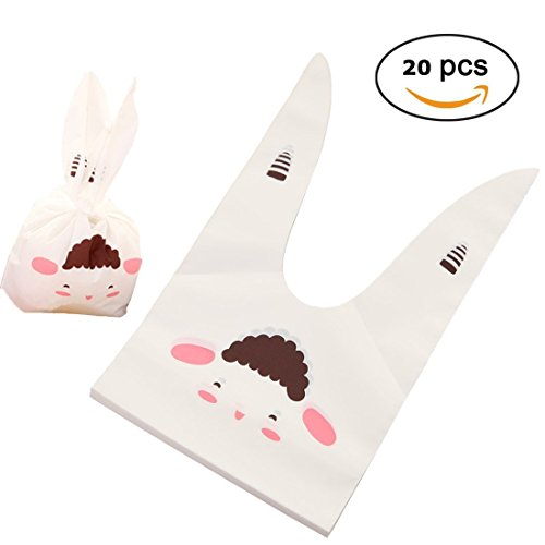 Gift Treat Bags Candy Cookie Chocolate Party Favor Goody Bags Wrapping Packaging 20pcs (Party Supplies Richmond)