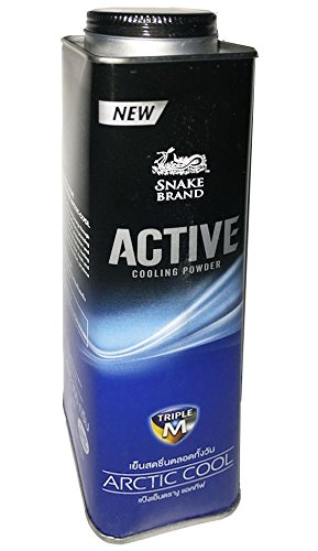 Active Prickly Heat Powder Snake Brand Arctic Cool(300 Gram)