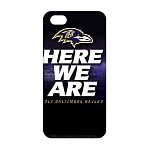 Fortune NFL HERE WE ARE 2013 BALTINORE RAVENS Phone Case For HTC One M8 Cover