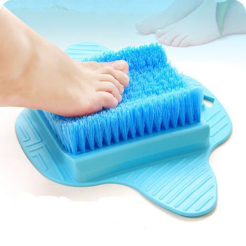 Senchanting Massager Foot Cleaner Bath Brush Scrubber Exfoliating Feet Washer Shower(Blue) by Senchanting