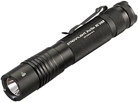 Streamlight 88052 ProTac HL USB 850 Lumen Professional Tactical Flashlight – 850 Lumens