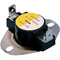 SUPCO SHL230 Thermostat Limit Control for Home Heater, 230 Degree F Cut Out Temperature, 25 Amp, 240Vac