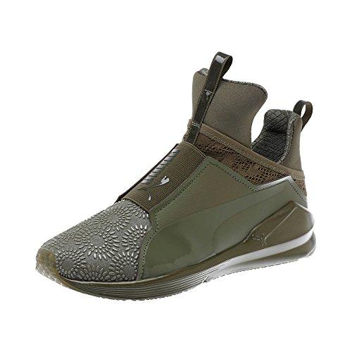 mujer Negro Puma 01 Zapatos kurim Puma feroz Quemado Oliva Verde qCBwpCE