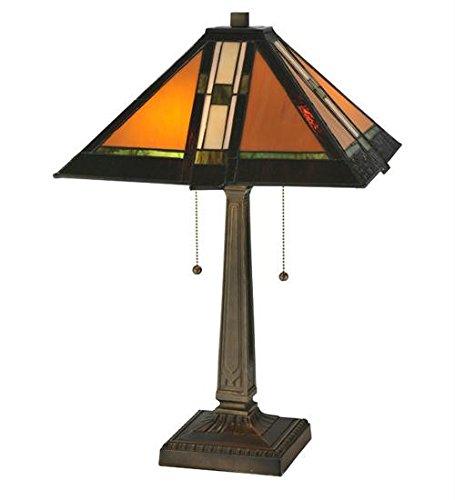 Prairie Parquet Mission Table Lamp