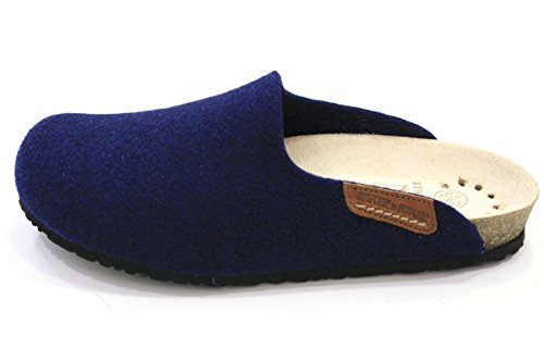 Marino Para Por Casa Estar Azul Verde Zapatillas Tela Mephisto Mujer De RwYqvTcU