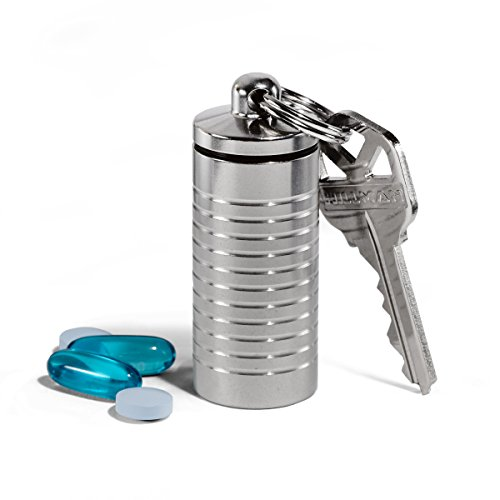 Cielo Pill Holders - Waterproof Large Single Chamber Stainle