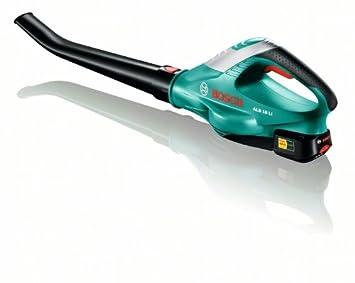 Bosch Home and Garden 0.600.8A0.500 Bosch Soplador de Hojas de batería ALB 18 LI, 18 V, Negro, Verde