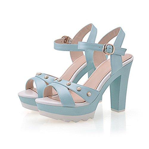 Adee , Sandales pour femme - bleu - bleu, 35.5