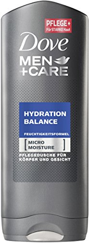 Dove Men+Care Duschgel Hydration Balance, 6er Pack (6 x 250 ml)