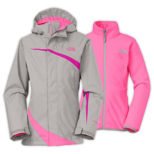 The North Face Mountain View Triclimate Jacket Girls Metallic Silver XL18 by The North Face