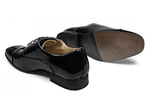 Negro De Zapatos Para Hombre Cordones Goor qXgBx4v