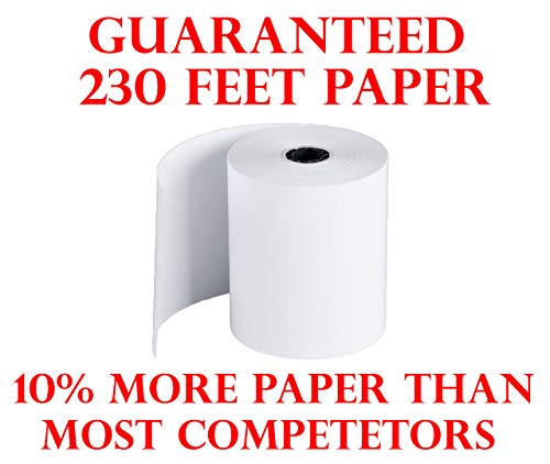 3 1 8 x 230 Thermal Receipt Paper POS Cash Register 50 Rolls BPA Free Made in USA 318230 From BuyRegisterRolls.