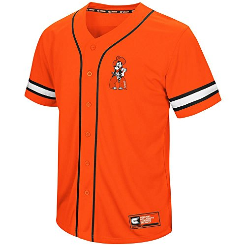 (Mens Oklahoma State Cowboys Baseball Jersey - XL)