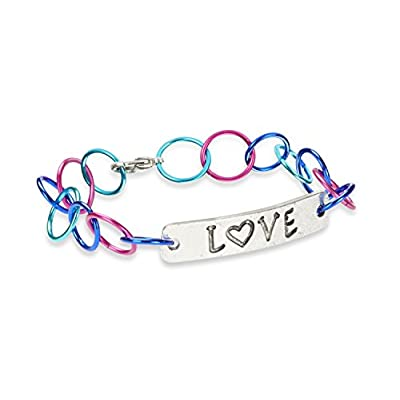 Melissa & Doug Jewelry Made Easy Color Link Bracelet-Making Set (Makes 3 Bracelets): Melissa & Doug: Toys & Games