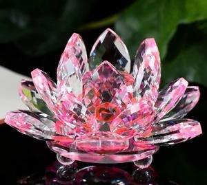 Amazoncom Jkk Sale Sparkle Crystal Lotus Flower Pink Home Kitchen
