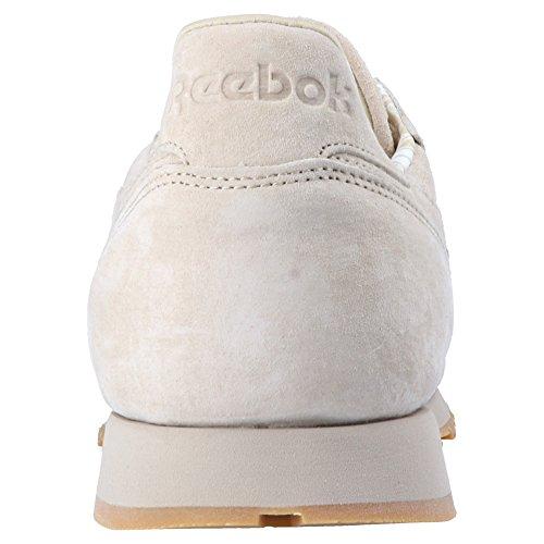 Cl Baskets Mode Tdc Homme Beige Classic Leather Reebok H5wqR6H