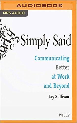 Book SIMPLY SAID M
