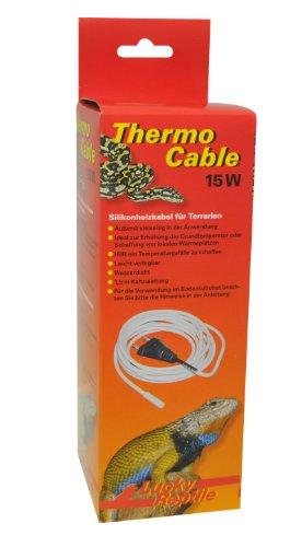 Lucky Reptile HTC-15 Thermo Cable 15 W, 3.8 m, Heizkabel für Terrarien