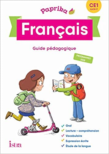 Amazon Fr Paprika Francais Ce1 Edition France Guide