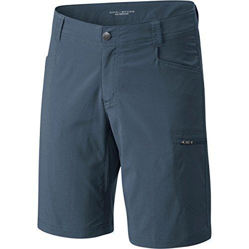 Columbia Men's Silver Ridge Stretch Short, Whale, 34 x 10 Columbia Hiking Shorts