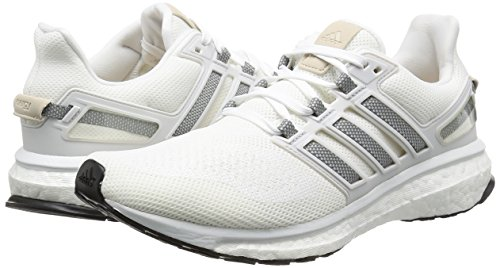newest 68a73 60fd1 adidas Energy Boost 3, Chaussures de Running Homme, Blanc (Ftwr WhiteCh  Solid GreyCrystal White), 39 13 EU Amazon.fr Chaussures et Sacs