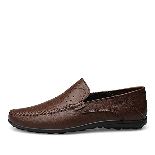 da Loafer Slipper alla Moda Cricket da Uomo Morbidi Driving di On Scarpe Mocassini Slip Casual Design BqYwSS7